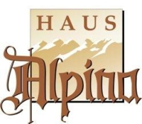 logo haus alpina pension in huben ötztal